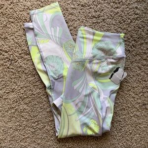 Free People Movement Wave Crush Leggings Lime